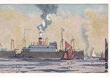 Tucks CELEBRATED LINERS - SS PRESIDENT HARDING (US LINES) at PLYMOUTH