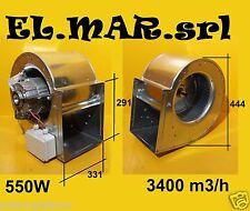 Ventilatore Aspiratore Centrifugo DD 10/10 Motore 230 V 550 W cappa industriale