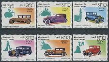 LAOS N°430/435** voitures, automobiles TB, 1982 cars SC#413-418 MNH