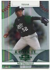 2008 Donruss Threads Century Proof Green 136 Neftali Feliz Rookie 16/250