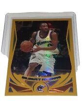 2004-05 Topps Chrome Gilbert Arenas Gold Refractor Wizards Card #27