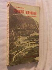 GEOGRAFIA ECONOMICA Volume quarto Carmelo Colamonico Loffredo 1959 prodotti per