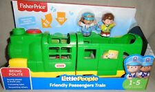 NEW  FISHER  PRICE  LITTLE  PEOPLE  FRIENDLY  PASSENGERS  TRAIN