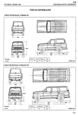 Manual de Taller Nissan Patrol Serie 260. (En CD) Workshop Reparation.