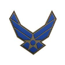 USAF AIR FORCE LOGO Tactical Morale Hook Patch (3D-PVC Rubber-MTB11)