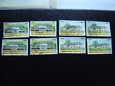COTE D IVOIRE - timbre yvert/tellier n° 689 690 x4 obl (A27) stamp