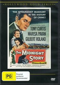 The Midnight Story  - Tony Curtis  Gilbert Roland New and Sealed DVD