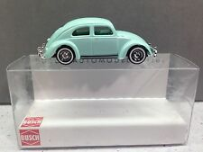 HO 1/87 Busch # 42722 - 1951 Volkswagen Beetle w/Oval Rear Window - Light Green