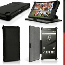 Fundas con tapa Para Sony Xperia Z5 de piel sintética para teléfonos móviles y PDAs