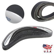 15Pcs 1'' x 30'' Sanding Belts600, 800,1000 Grit Silicon carbide Sander Abrasive