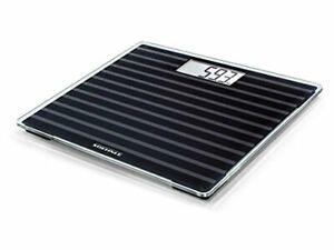 Soehnle Bathroom Scales Digital Style Sense Compact 200 Black Edition Body Scale