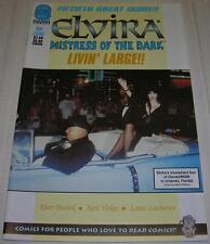 ELVIRA MISTRESS OF THE DARK #50 (Claypool Comics 1997) Photo cover (VF-) RARE