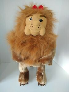 """16"""" Stuffed Plush Cowardly Lion Toy Doll From The Wizard Of Oz"""