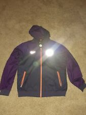 Nike Manchester City Hooded Jacket Purple Mens Large