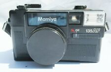Vintage MAMIYA 135 AF CAMERA with lens cover and strap