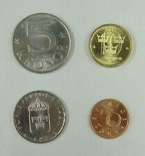 Sweden Coins Set of 4 Pieces UNC