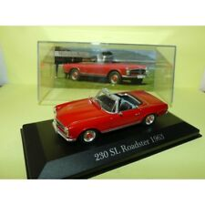 MERCEDES 230 SL ROADSTER 1963 Rouge ALTAYA 1:43