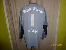 "FC Bayern München Adidas Torwart Trikot 02/03 ""-T---Mobile-"" + Nr.1 Kahn Gr.L-XL"