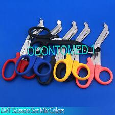 "6 Pairs Paramedic Emt Trauma Shears Scissors First Aid 5.5"""