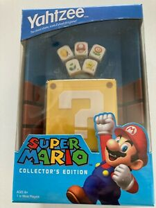 Super Mario Yahtzee Collector's Edition