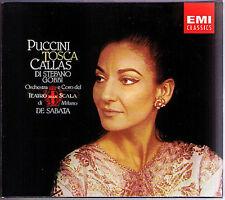 PUCCINI: TOSCA Maria CALLAS Giuseppe DI STEFANO Tito GOBBI Victor DE SABATA 2CD