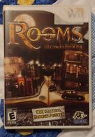 Rooms: The Main Building  Nintendo Wii / Wii U Tested Works Complete