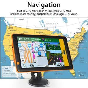 9 Inch Truck GPS Touchscreen Trucking 8GB GPS Navigation Car Truck Navigate p-