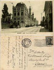Venezia, Lido, Grand hotel excelsior, bella nimata con tram, 1928