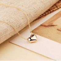 Collier Femme Pendentif Mini Coeur Plaqué Or Rose - Bijoux des Lys