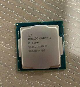 Intel Core i5- 8500T- 2.10GHz