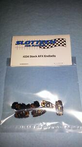 Slottech #234 Factory AFX Endbells (6) BSRT Viper Super G+ Plus Tomy