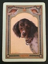 Vintage Swap/Playing Card - U.S. WIDE DOG NAMED - QUEEN