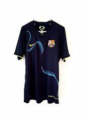 Barcelona Training Shirt. Small Adults. Nike. Blue S Short Sleeves Football Top.