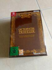 Octopath traveler Compendium Edition Nintendo Switch nuovo sigillato italiano