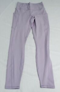 Fabletics Women's Oasis High-Waisted Pocket Leggings FR7 Sky Purple Size XS NWT
