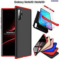 COVER per Samsung Galaxy Note 10 /Plus CUSTODIA Fronte Retro 360 ORIGINALE ARMOR