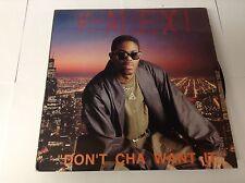 K-Alexi – Don't Cha Want It? D.J. International Records – VINYL 12 TRK LP VG+