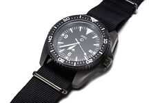 MWC European Pattern Heavy Duty Military Divers Watch in PVD Steel (Automatic)