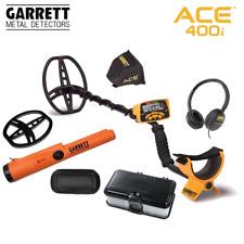 Garrett ACE 400i Metalldetektor + Garrett Pro Pointer AT + Fundbox