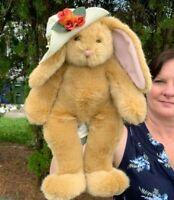 Build A Bear TALKING SEVERAL PHRASES Bunny Rabbit Plush Stuffed Animal SEE VIDEO