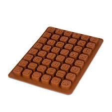 Silikonform mit Buchstaben, Zahlen, Schokolade, Eiswürfel, Pralinen,Süßigkeit