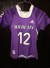 Northwestern University Wildcats Game Worn Lacrosse Jersey #12 WM VIGMOSTAD