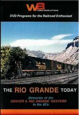 The Rio Grande Today - Memories of the D&RGW DVD Denver Documentary Full Screen