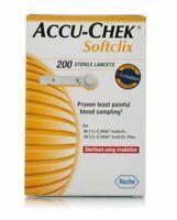 Accu Chek Softclix Lancets Pack of 50& 200 LongExpiry FreeShipping Blood Glucose