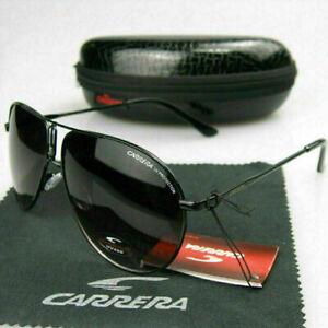 CARRERA Oversized Aviator Sunglasses Men's Women Driving Outdoor Glasses + Case
