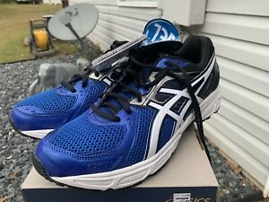 Mens Asics Gel-contend 2 Royal/white/black Size 11.5