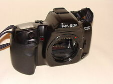 MINOLTA DYNAX 500si BODY ONLY WITH SHOULDER STRAP AND SHOE COVER