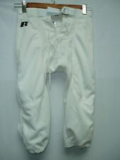 Youth Football Pants Polyester White Snaps Small New