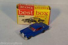 BEST BOX 2516 MERCEDES-BENZ MERCEDES 250 SE 250SE BLUE EXCELLENT BOXED RARE