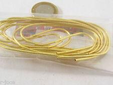 1 sacchetto di circa 5 grammi di canutiglia dorata grossa 1,5 mm interno 1 mm